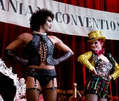 Rocky Horror. My favorite outfit in the whole film belonged to Franky.