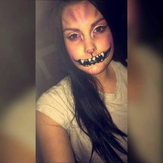 Awsome Halloween Makeup  Makeup by @cxlinx_xexe 122