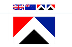 Design Competitions, Flag Design, New Zealand, Symbols, Letters, Blog, Bunting Design, Icons, Letter
