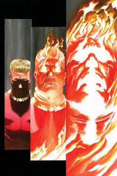 The Human Torch by Alex Ross