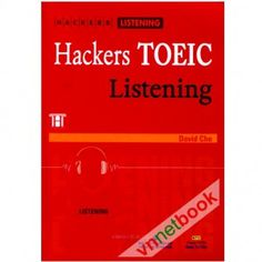 Kỹ năng nghe hiện nay là một vấn đề khó dành cho một số bạn nên tác giả biên soạn nên quyển HACKERS TOEIC LISTENING để cải thiện điều đó.