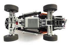 Racing buggy Lego Technic Truck, Lego Truck, Lego Gears, Lego Machines, Amazing Lego Creations, Lego Mindstorms, Lego Construction, Car Memes, Lego Group