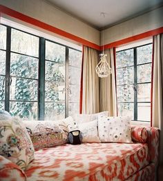 nook.....great curtains