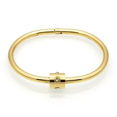 2017 Luxury Brand Jewelry Pulseira Stainless Steel Crystal Bracelets & Bangles Gold Color Screw Love Bracelet For Women