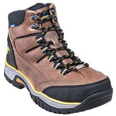 Goodyear Footwear Men's GY7666 Steel Toe Waterproof Tan Hiking Boots
