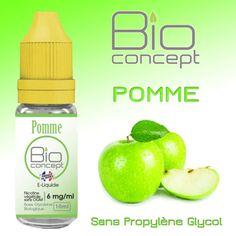 E-liquide 10ml BIO CONCEPT POMME