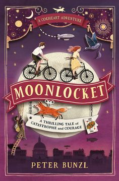Moonlocket by Peter Bunzl Cool Cover Design. Book Cover Art, Book Cover Design, Book Design, Up Book, Book Nerd, Got Books, Books To Read, Dm Poster, Posters