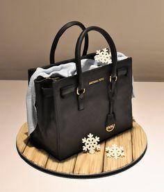 Emma Jayne Cake Design Michael Kors Wedding Gown Cakes Fashionista Handbag