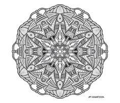 Awakening by Mandala-Jim.deviantart.com on @deviantART