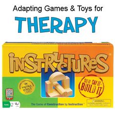 More than just a construction game, this one requires the ability to communicate exactly what you mean. Chosen by Mensa as a National Competition Winner. Get ideas for using in therapy.