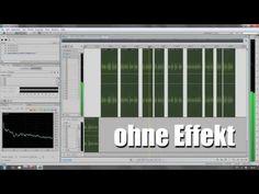 Ohne Effekt Hörbeispiel Adobe Audition Sprachaufnahme