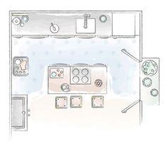 Ensjø? Kjøkkenøy og gammel skap