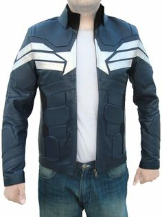 New Summer Collection Winter Soldier Captain America Jacket!  Hold your breaths as we present this astonishing Captain America Winter Soldier blue jacket from the latest mega blockbuster picture, Captain America. It is truly a terrific replica, made of best quality real leather in its formation. You can don this on your physique at any casual parties or hangouts with friends.  ► Sale: $199.00 ► You Save: $30.00 (18%)  www.amazon.com/Winter-Soldier-Captain-America-Jacket/dp/B00K0L9GCW