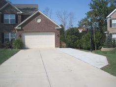 Designed To Dwell: Concrete Extension & Basketball Goal
