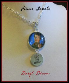 Check out this item in my Etsy shop https://www.etsy.com/listing/243987824/daryl-dixon-walking-dead-necklace
