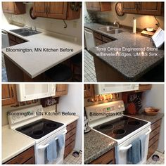 Look at the Kitchen Transformation our great team did in Bloomington, MN this week!