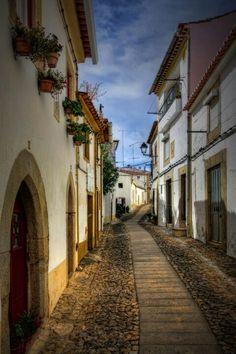 Castelo de Vide, Portugal, I love the light in this  photo!