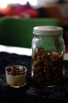 Granola, Mason Jars, Mason Jar, Muesli, Glass Jars, Jars