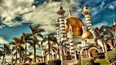 4. Ubudiah Camii Kuala Kangsar, Malezya
