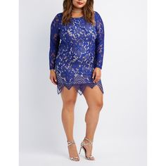 Charlotte Russe Eyelash Lace Bodycon Dress ($34) ❤ liked on Polyvore featuring plus size women's fashion, plus size clothing, plus size dresses, navy, plus size white cocktail dress, plus size white dress, white body con dress, white prom dresses and cocktail dresses