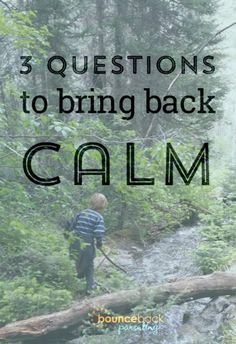 Anxious Kiddo? Get Back Calm With These Basic Questions