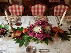 La mesa de octubre de Constance - All that is chic