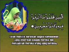 Quran recitation of Qariah Sainap Abdul Romae (Thailand)  in Malaysia1996
