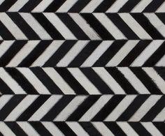 Detail of Juniper herringbone cowhide rug. jimmy by Jimmy Possum Cow Hide Rug, Herringbone, Rugs, Detail, Farmhouse Rugs, Rug, Herringbone Pattern