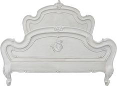 Antique White Distressed Bedroom Furniture | Double click on above image to view full picture