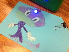 Paper circuits activity for classroom