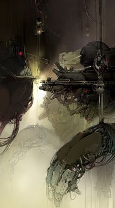 Visual concepts for Warframe