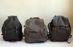 vintage rucksacks from topsy design...PiPok has one of them.