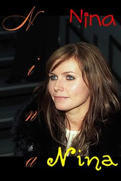 Photobucket - Video and Image Hosting Nina Persson, The Cardigans, Sweden, Hair, Artists, Rock, Image, Singers, Musica