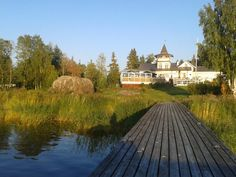 Pavis, Jakobstad West Coast, Finland, Spaces, Mansions, House Styles, Home Decor, Decoration Home, Manor Houses, Room Decor