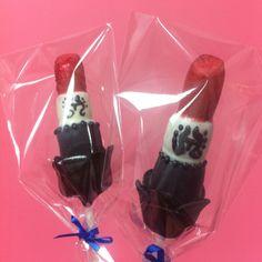 Anna Sui inspired lipstick lollicake