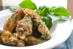 Making these Baked Parmesan Garlic Chicken Wings as I pin this . . .