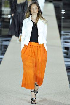 Acne RTW S/S 2012. Model - Vanessa Hegelmaier.