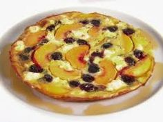 How To Make Frittata with Peaches and Cherries Quick Style Recipe