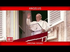 Angelus From St. Peter's Square, recitation of the Angelus prayer led by Pope Francis Videos Del Papa Francisco, Pope Francis Vatican, Assumption Of Mary, Pope Pius Xii, Religion Catolica, Saint Esprit, Fathers Say, News Website, Youtube