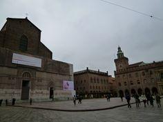 「Piazza Maggiore」Bologna, Emilia-Romagna, Italia