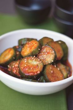 Korean Spicy pickled cucumber a/k/a quick kim chee