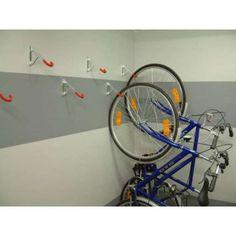 Nouveau Heavy Duty Silverline Support Mural Monté vélo de stockage Crochet 20 kg