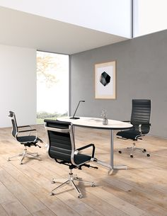 With a wide variety of conference tables, occasional tables, and cafe tables, Dock has the perfect solution to anchor any meeting space. Kimball Office, Cafe Tables, Conference Table, Basic Shapes, Side Chairs, Furniture Design, Design Inspiration, Occasional Tables, Phase 2