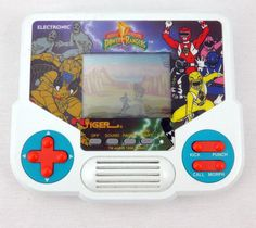 Mighty Morphin Power Rangers Electronic Hand Held Game Tiger Electronics 1988 #Tiger