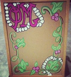 Sorority cork board craft! maybe for when I get a grandlittle :)