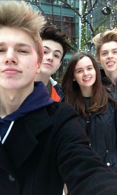 New Hope club and Sophie mcvey