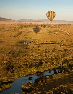 Ready to be swept off your feet? A hot air balloon ride over the Serengeti will do the trick.