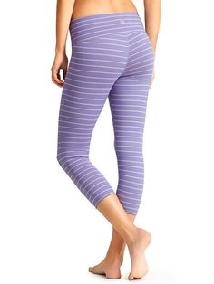 Stripes Chaturanga&#153 Capri Product Image