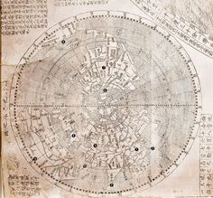 ricci map 400 yrs old showing China as the centre of the world
