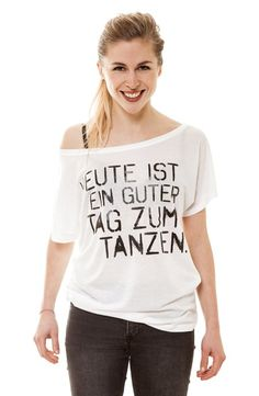 Heute ist ein guter Tag zum tanzen. www.closh.de #Tanz, #Tanzen, #Dance, #Tencel, #Bio, #Fairtrade, #faishion, #Style, #Design, #Tanzmode, #Tanzbekleidung, #Mode, #Fashen, #Sport, #Modern